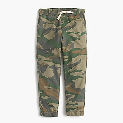 Boys' pull-on pant in camo