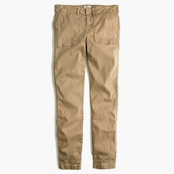 Tall skinny stretch cargo pant