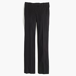 Petite Campbell trouser in bi-stretch cotton