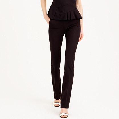 Petite Campbell trouser in bi-stretch cotton