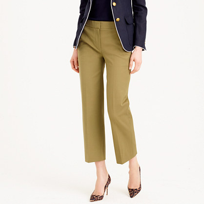 Patio pant in bi-stretch cotton