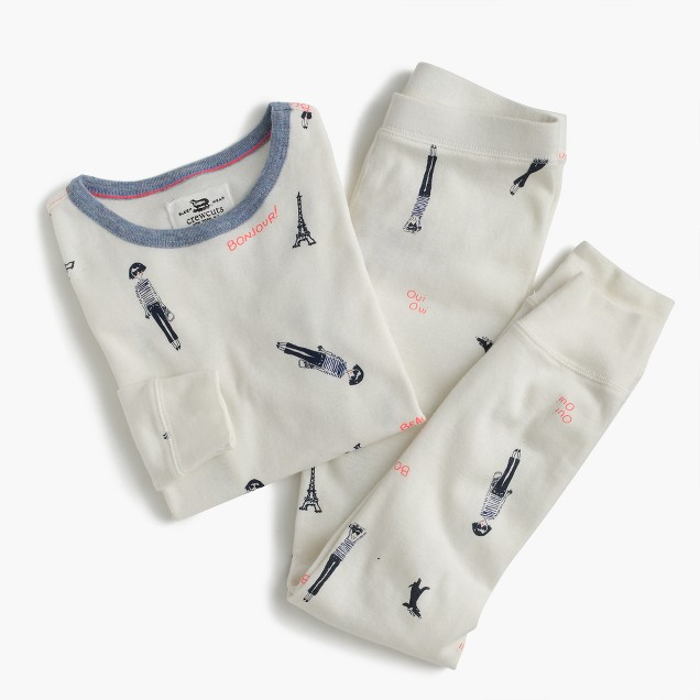 Girls' pajama set with Olive