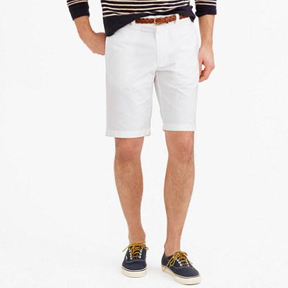 "10.5"" Stanton short in cotton oxford cloth"