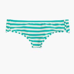 Bikini boy short in classic stripe