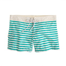 Board short in classic stripe