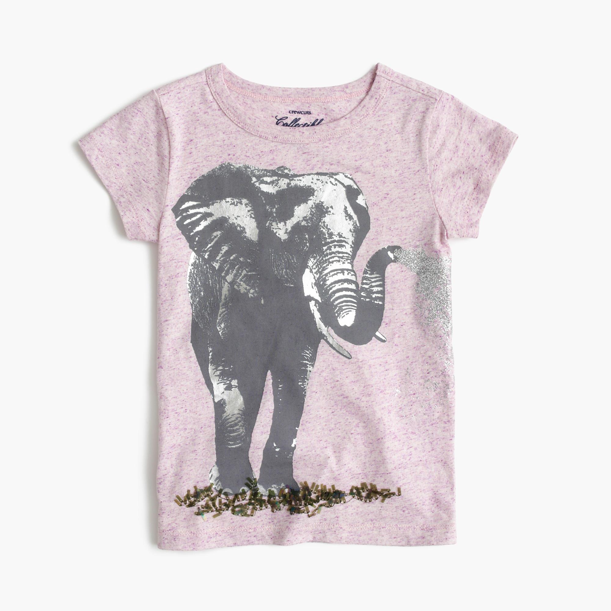 Girls 39 elephant t shirt j crew for Elephant t shirt women s