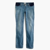 Maternity slim boy jean in Monterey wash
