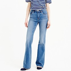 Tall flare jean in Parkmount wash