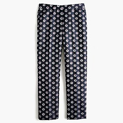 Patio pant in scattered daisy