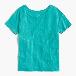 Relaxed linen T-shirt