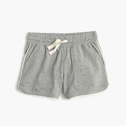 Girls' pull-on knit short