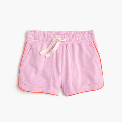 Girls' pull-on knit short
