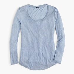 10 percent long-sleeve T-shirt