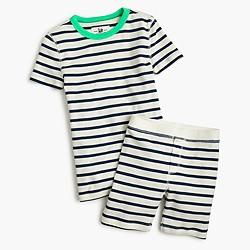 Boys' pajama set in stripe