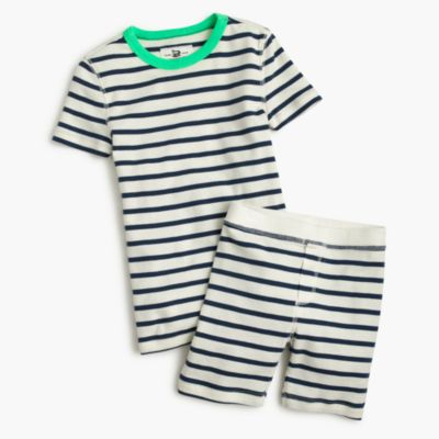 Boys' pajama set in stripe