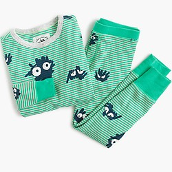 Boys' glow-in-the-dark pajama set in Max the Monster