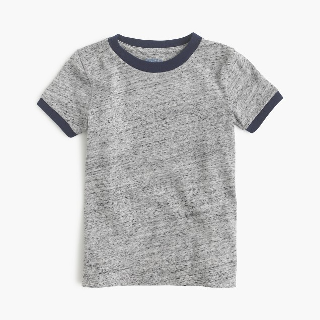 Boys' ringer T-shirt