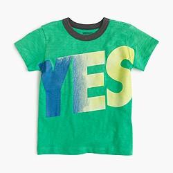 Boys' yes-no T-shirt