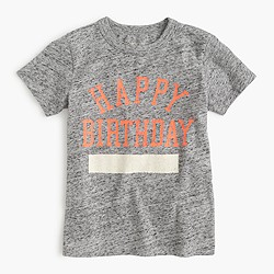 Kids' happy birthday T-shirt