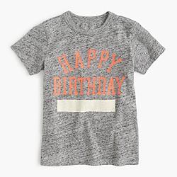 Kids' happy birthday T-shirt