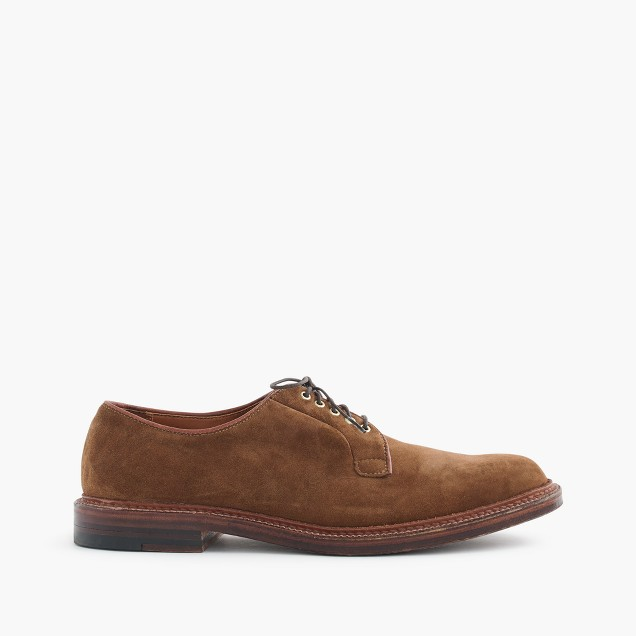 Alden® for J.Crew bluchers in suede
