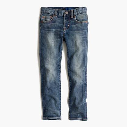 Boys' stretch skinny jean in vintage wash