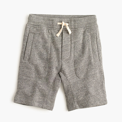 Boys' pull-on fleece short
