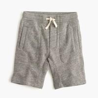 Boys' pull-on fleece short