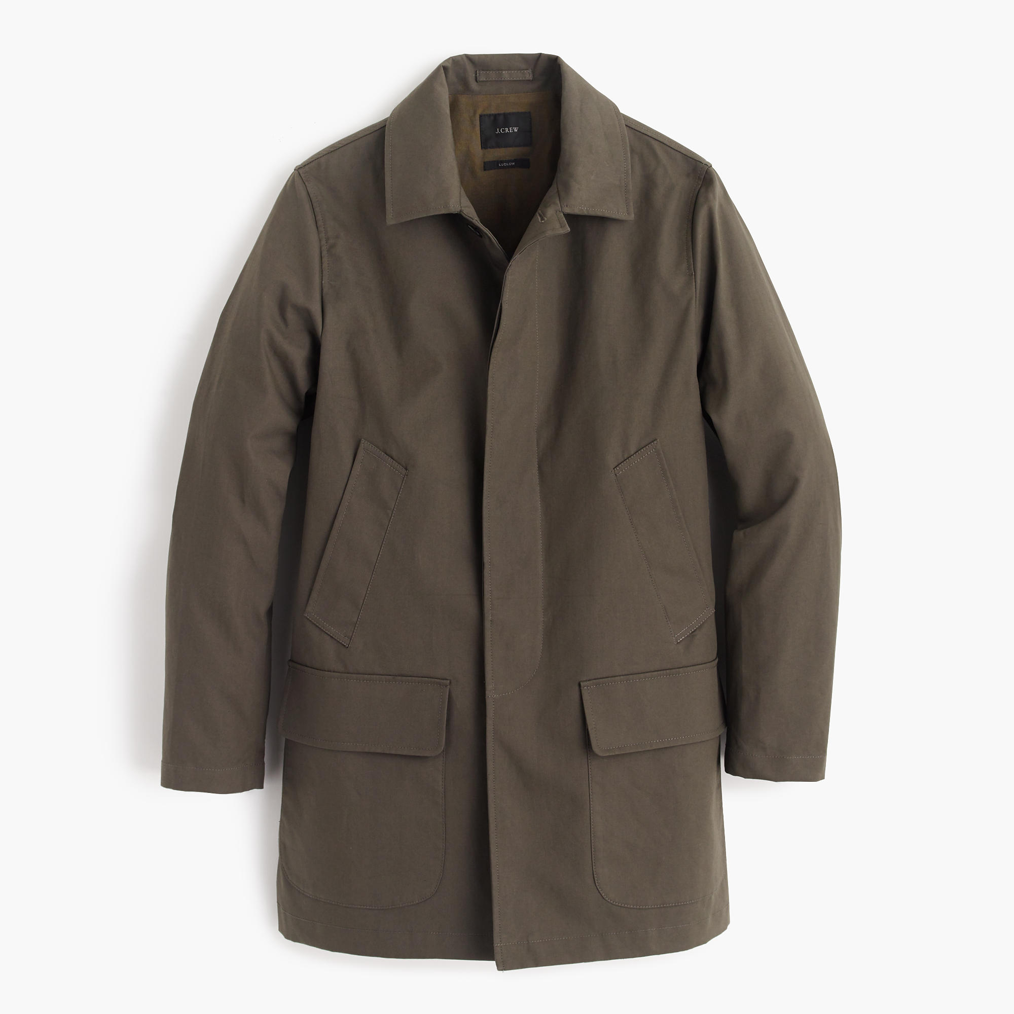 J.Crew Ludlow Water-Repellent MAC Jacket $248