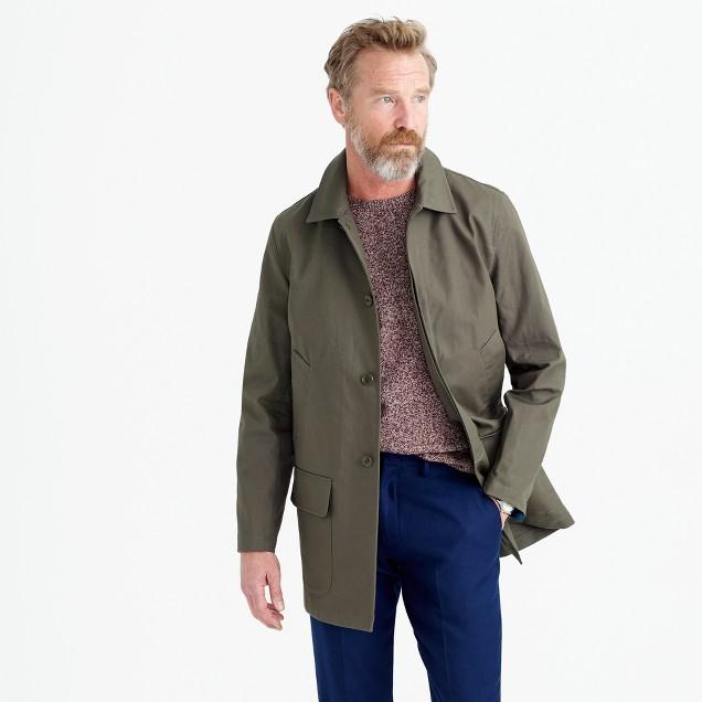 Ludlow water-repellent mac jacket