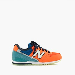 Kids' New Balance® for crewcuts 996 lace-up sneakers with glow-in-the-dark soles