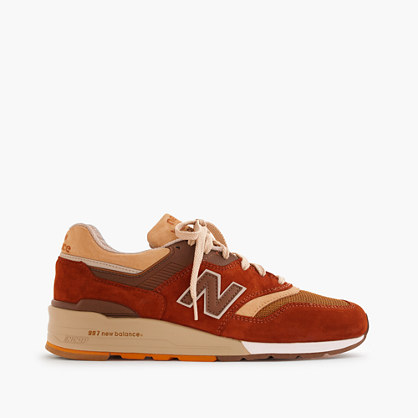 New Balance® for J.Crew 997 butterscotch sneakers