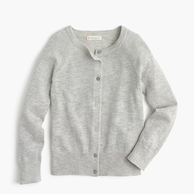 Girls' sparkle Caroline cardigan sweater
