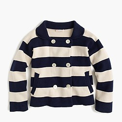 Girls' nautical jacket