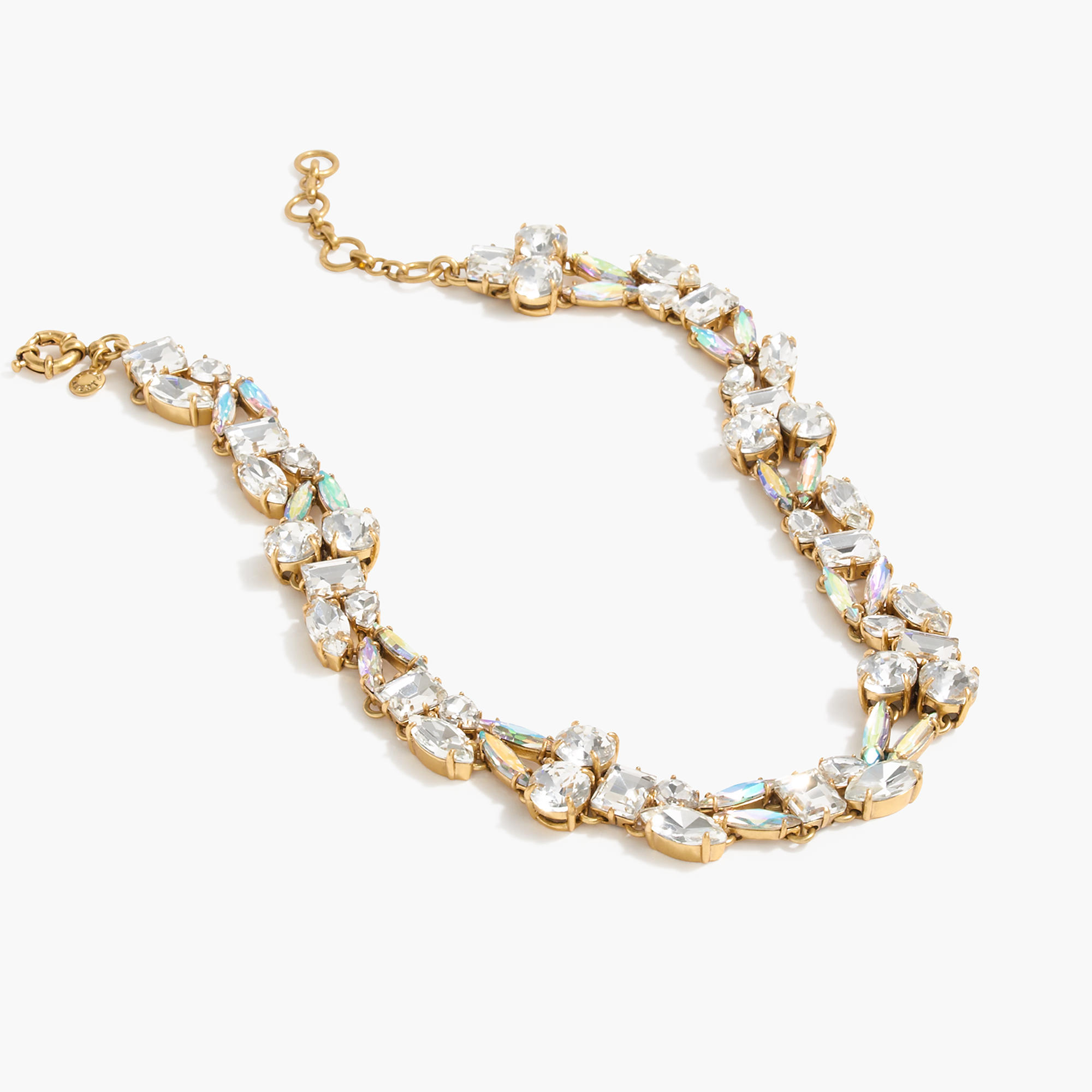 Mixed crystal necklace j crew for J crew jewelry 2015