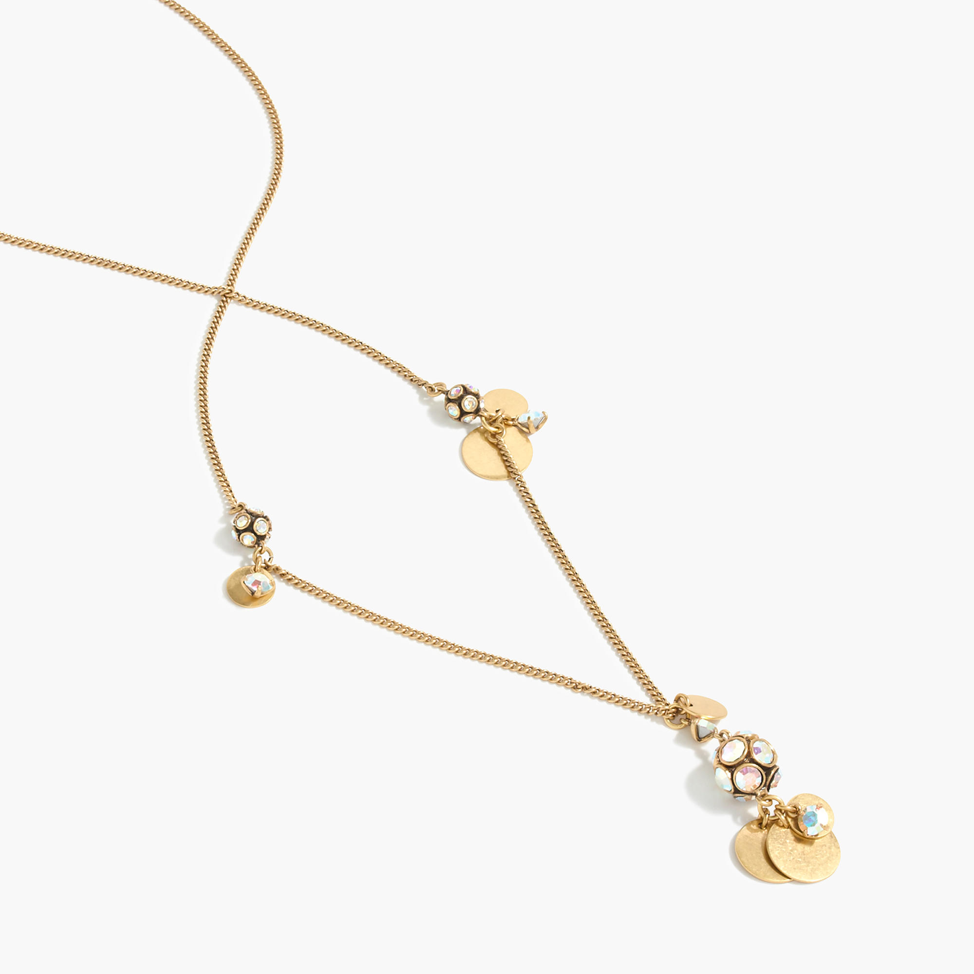 Triple charm necklace j crew for J crew jewelry 2015