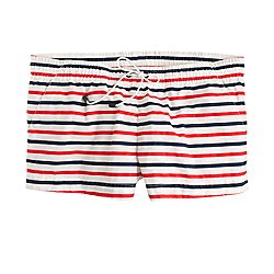 Board short in multistripe