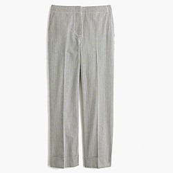 Patio pant in skinny stripe