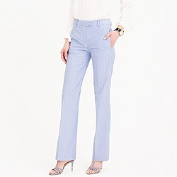 Striped cotton pant