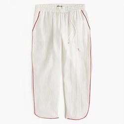 Linen beach pant