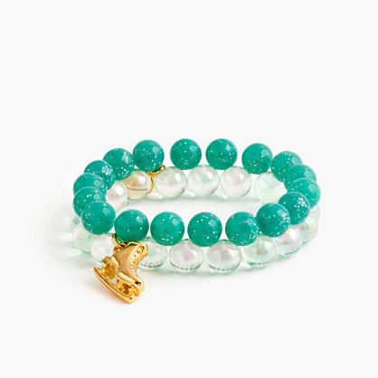 Girls' winter gumball bracelet