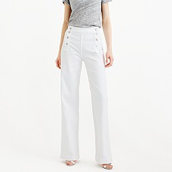 Point Sur sailor jean in white