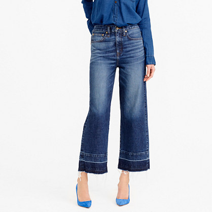 Point Sur wide-leg jean
