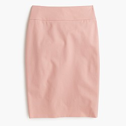 No. 2 pencil skirt in bi-stretch cotton