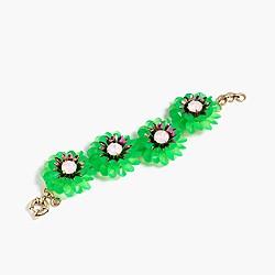 Zinnia crystal bracelet