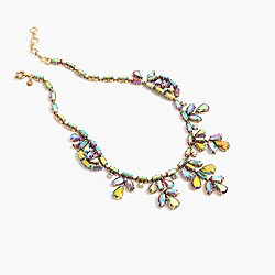 Crystal ivy necklace