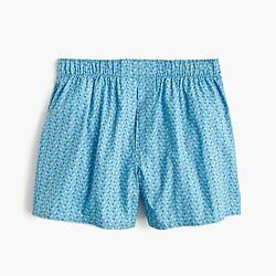 Daisy print boxers