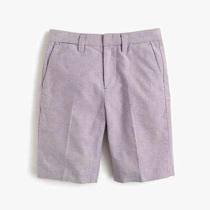 Boys' Ludlow short in cotton oxford