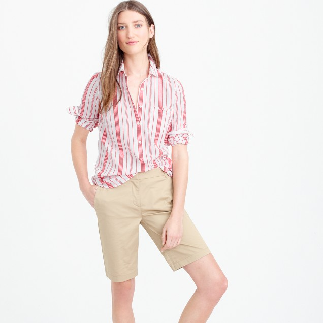 Lightweight bermuda chino short