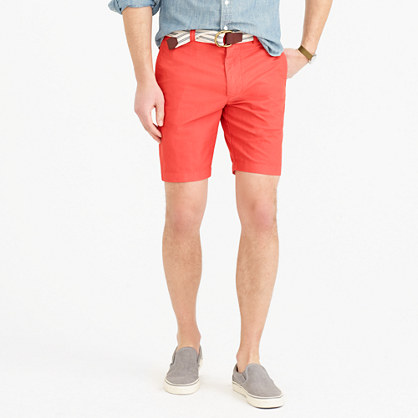 """9"""" Stanton short in garment-dyed oxford cloth"""